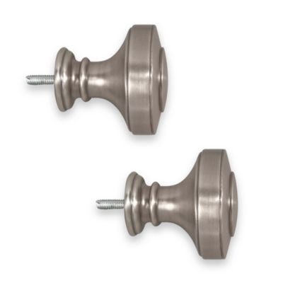 ReSolutions Knob Finials in Brushed Pewter