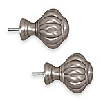 ReSolutions Chateau Finials in Brushed Pewter