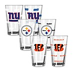 NFL Color Changing Pint Glasses (Set of 2)