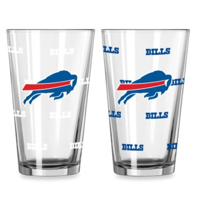 Buffalo Bills Color Changing Pint Glasses (Set of 2)