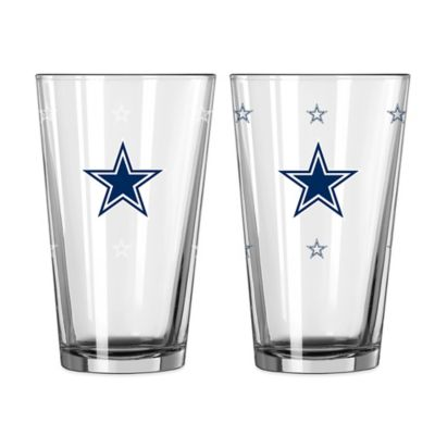 NFL Dallas Cowboys Color Changing Pint Glasses (Set of 2)