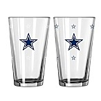 NFL Dallas Cowboys Color Changing Pint Glasses (Set of 2)