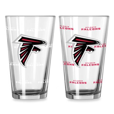 NFL Atlanta Falcons Color Changing Pint Glasses (Set of 2)