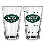 New York Jets Color Changing Pint Glasses (Set of 2)