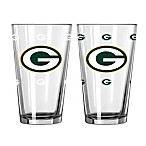 Green Bay Packers Color Changing Pint Glasses (Set of 2)