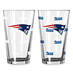 New England Patriots Color Changing Pint Glasses (Set of 2)