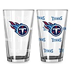 NFL Tennessee Titans Color Changing Pint Glasses (Set of 2)