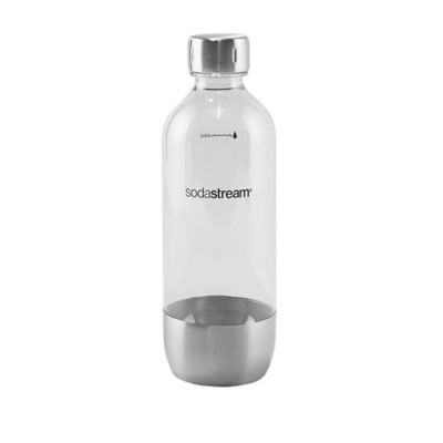 SodaStream 1-Liter Carbonating Bottle in Stainless Steel