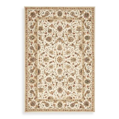 Safavieh Chelsea Collection Wool 2-Foot 6-Inch x 4-Foot Accent Rug in Ivory