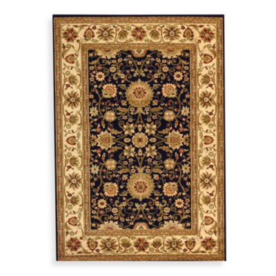 Safavieh Lyndhurst Rugs in Black/Ivory