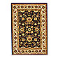 Safavieh Lyndhurst 6-Foot x 9-Foot Rug in Black and Ivory