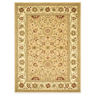 Safavieh Lyndhurst Collection 5-Foot 3-Inch Round Rug in Beige