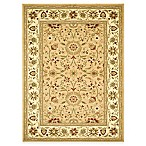 Safavieh Lyndhurst Collection 7-Foot 9-Inch x 10-Foot 9-Inch Rectangle Rug in Beige and Ivory