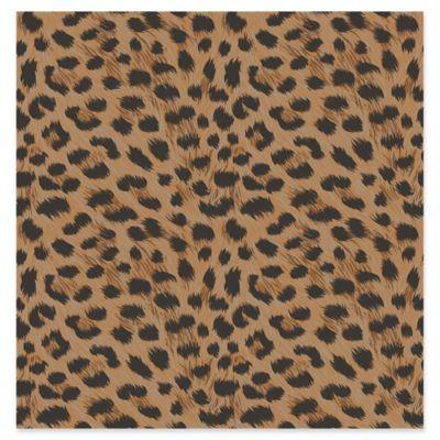 Fine Décor Furs Leopard Wallpaper in Orange