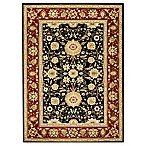 Safavieh Lyndhurst Collection Rugs in Black/Red
