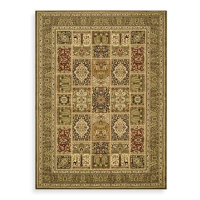 Safavieh Lyndhurst Collection 2-Foot 3-Inch x 20-Foot Patchwork Runner in Green