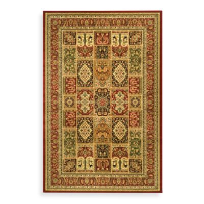 Safavieh Lyndhurst Collection 2-Foot 3-Inch x 8-Foot Runner in Red