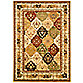 Safavieh Lyndhurst Diamond Patchwork 4-Foot x 6-Foot Rug in Ivory