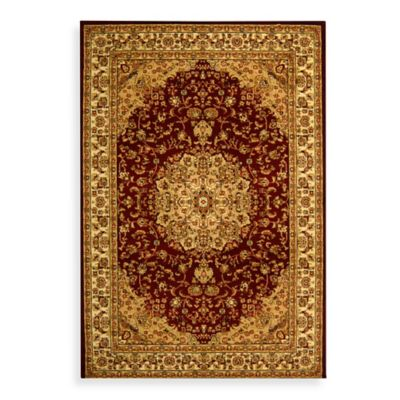 8 x 8 Safavieh Red Square Rug