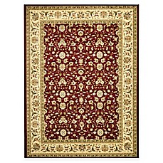 Safavieh Lyndhurst Red and Ivory Scrolling Pattern Rugs