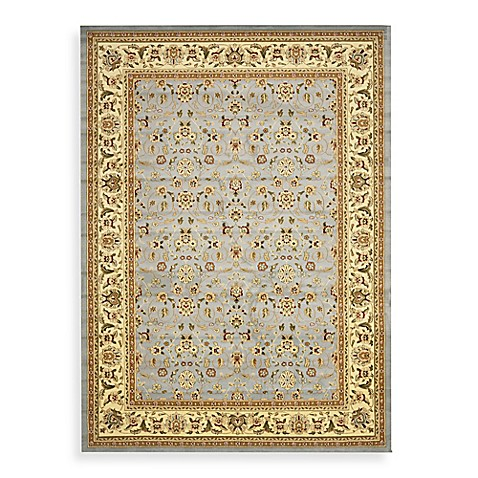 Safavieh Lyndhurst Light Blue and Ivory 5' Round Rug