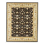 Safavieh Lyndhurst Black Scroll Pattern 4' x 6' Rectangle Rug