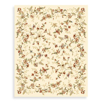 Safavieh Lyndhurst 2-Foot 3-Inch x 8-Foot Romantic Runner in Ivory