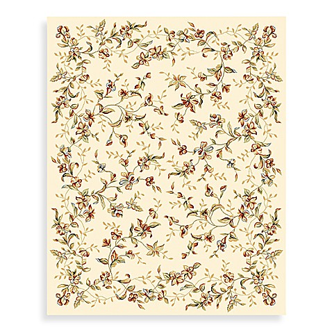 Safavieh Lyndhurst  3-Foot 3-Inch x 5-Foot 3-Inch Romantic Rug in Ivory
