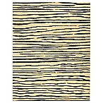 Safavieh Soho White and Black Wool 5' x 8' Rectangle Rug