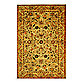 Safavieh Antiquities 4-Foot 6-Inch x 6-Foot 6-Inch Oval Wool Rug in Gold
