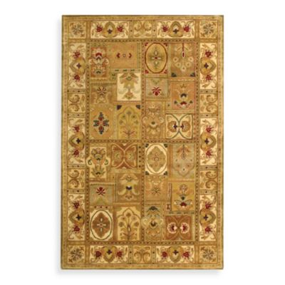 Safavieh Classic Sage and Multicolor Wool 8-Foot 3-Inch x 11-Foot Rug