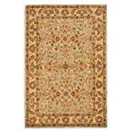 Safavieh Classic Wool Accent Rugs in Light Green/Gold