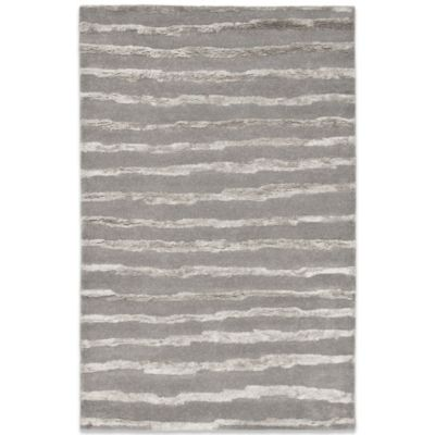 "Safavieh Soho Grey Wool 3' 6"" x 5' 6"" Rectangle Rug"