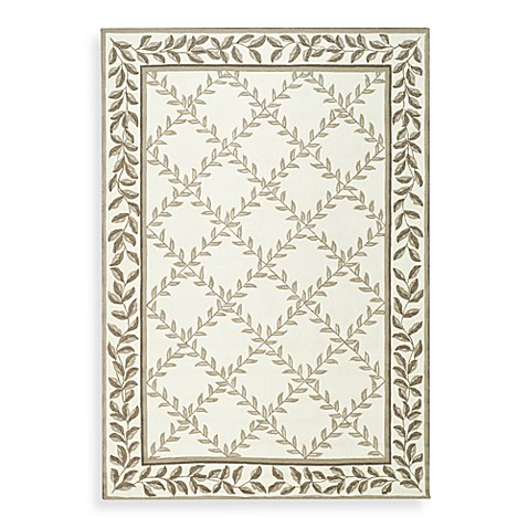 Safavieh EZ Care Ivory and Sage 8' Round Rug