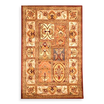 Safavieh Classic Patchwork 2-Foot 3-Inch x 4-Foot Wool Accent Rug in Amber