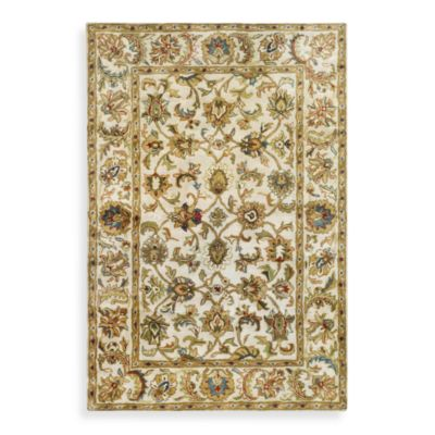 Safavieh Classic Scroll 2-Foot x 3-Foot Wool Accent Rug