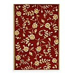 Safavieh EZ Care Floral Accent Rugs in Red/Gold