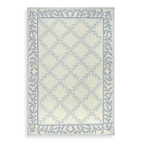 Safavieh EZ Care Accent Rugs in Ivory/Blue