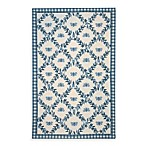Safavieh Chelsea Collection Blue Bee Wool Rugs