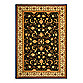 Safavieh Lyndhurst Scroll Pattern 5-Foot 3-Inch x 7-Foot 6-Inch Rectangle Rug in Black and Ivory