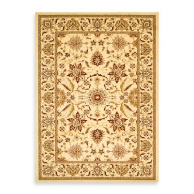 Lyndhurst Floral Rugs in Ivory