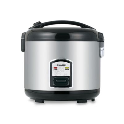 Rice Cooker with Stainless Steel Cooking Bowl