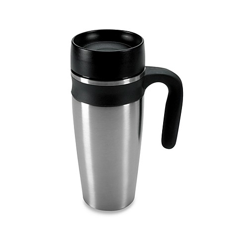 OXO® Stainless Steel LiquiSeal™ Travel Mug with Handle