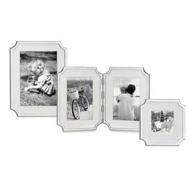 kate spade new york Sullivan Street 4-Inch x 6-Inch Double Photo Frame by Lenox®