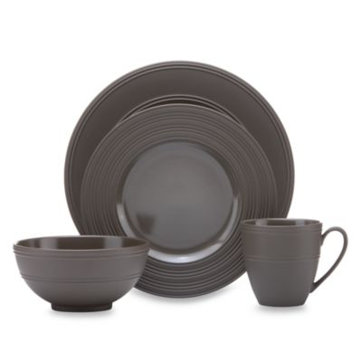 kate spade new york Fair Harbor Bittersweet 4-Piece Dinnerware Set
