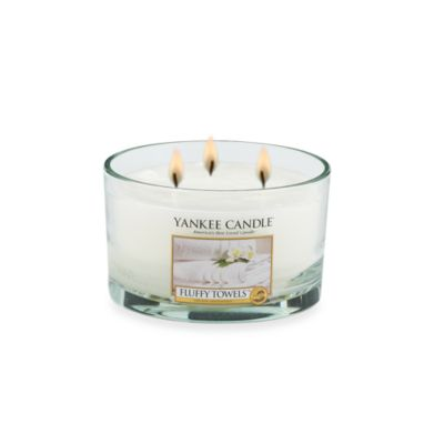 Yankee Candle® Fluffy Towels™ 3-Wick Candle
