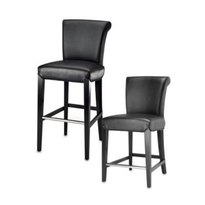 Safavieh Mercer Modern Seth Stool in Black