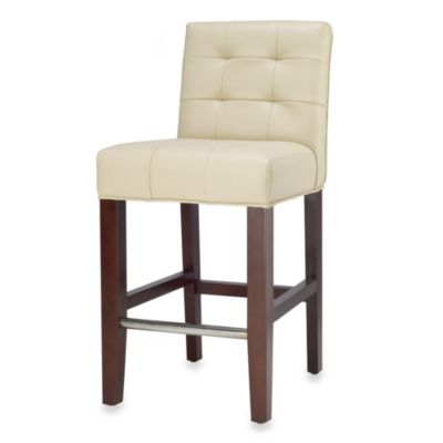 Safavieh Mercer Modern Thompson Counter Stool in Cream