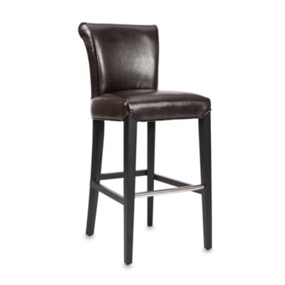 Safavieh Mercer Modern Seth Bar Stool in Brown