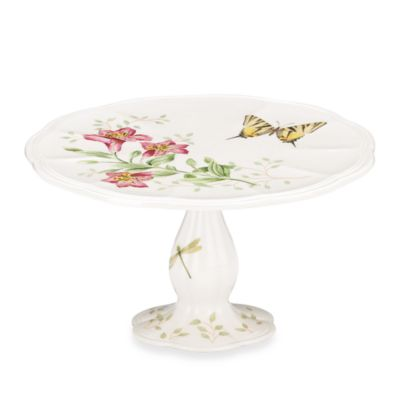Lenox® Butterfly meadow® Small Pedestal Cake Plate